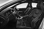 Front seat view of 2017 Volvo S60 R-Design 4 Door Sedan Front Seat  car photos