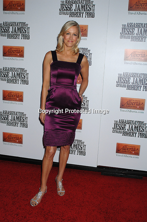 """Lara Spencer ..arriving at The US Premiere of""""The Assassination of Jesse ..James by the Coward Robert Ford"""" on September 18, 2007 at The Ziegfeld Theatre in New York. ..Robin Platzer, Twin Images....212-935-0770"""