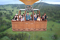 20100307 March 7 Gold Coast Hot Air Ballooning
