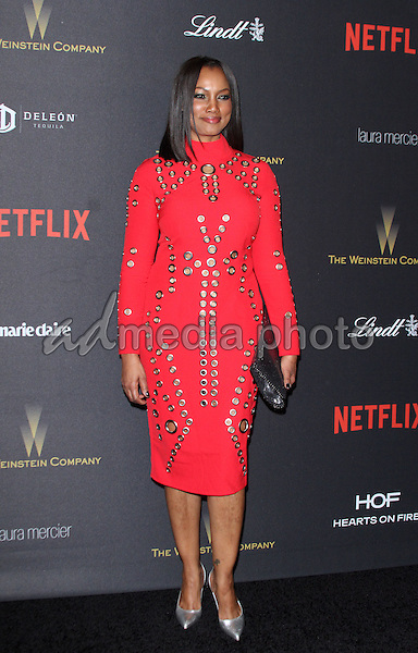 10 January 2016 - Los Angeles, California - Garcelle Beauvais. 2016 Weinstein Company & Netflix Golden Gloves After Party held at the Beverly Hilton Hotel. Photo Credit: AdMedia