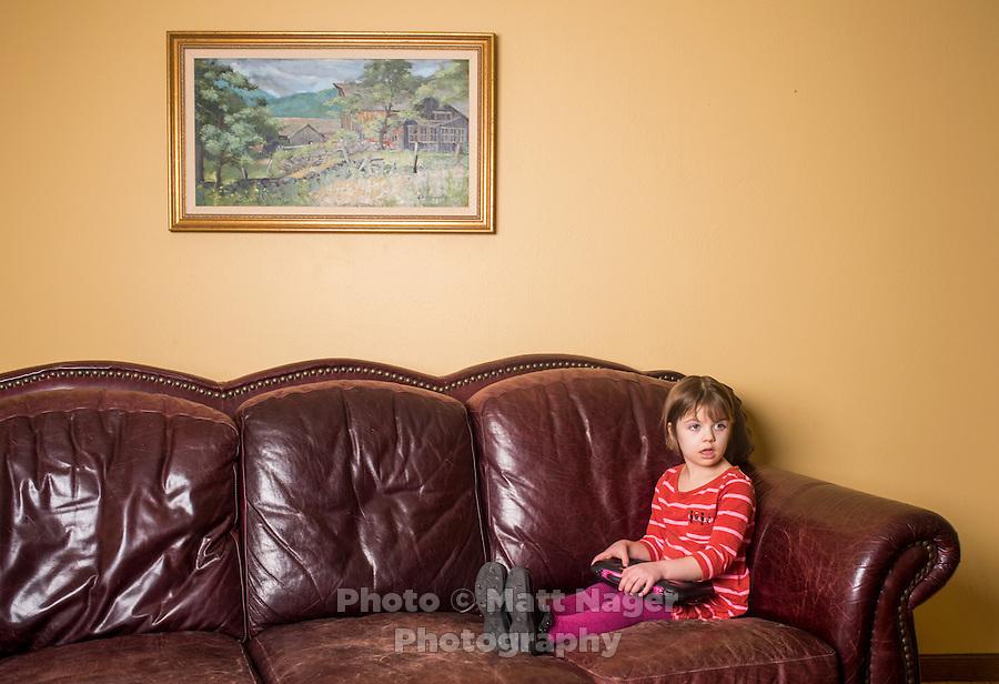 Charlotte Figi (cq, Age 7) At Her Home In Colorado Springs, Colorado