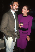 Audrey Hepburn Robert Wolders 1983<br /> Photo By John Barrett/PHOTOlink.