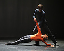 """Dance Consortium presents Nederlands Dans Theater 2, at The New Victoria Theatre, Woking, prior to commencing a national tour. this piece is : """"mutual comfort"""" by Edward Clug. The dancers are: Alice Godfrey, Miguel Duarte, Katarina van den Wouwer, Helias Tur-Dorvault."""