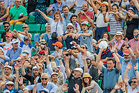 Paris, France, 02 June, 2018, Tennis, French Open, Roland Garros, The crowd makes the wave<br /> Photo: Henk Koster/tennisimages.com