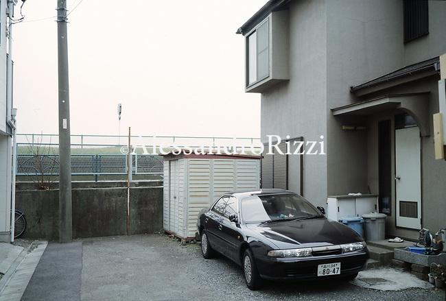 A car parked near a House