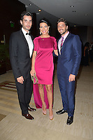 MIAMI, FL - MAY 19: Khotan, Candela Ferro and David Chocarro attends the St. Jude Angels & Stars Gala at JW Marriott on May 19, 2012 in Miami, Florida.  (photo by: MPI10/MediaPunch Inc.)