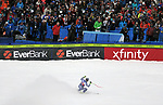 December 1, 2017:  France's, Adrien Theaux #12, celebrates a strong effort in the Super G competition during the FIS Audi Birds of Prey World Cup, Beaver Creek, Colorado.