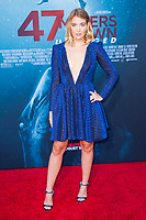 Los Angeles, CA - AUGUST 13th: <br /> Sophie Nélisse attends the 47 Meters Down: Uncaged premiere at the Regency Village Theater on August 13th 2019. Credit: Tony Forte/MediaPunch
