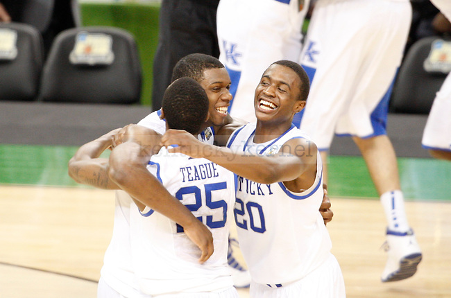 during the second half of the Kentucky vs. Kansas National Championship game at the Super Dome in New Orleans, Louisiana  April 2, 2012. Photo by Brandon Goodwin | Staff