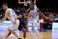 GRONINGEN - Basketbal, Donar - Landstede Zwolle, Halve finale Beker, seizoen 2019-2020, 13-02-2020,  Donar speler Matt Williams Jr en Donar speler Thomas Koenis