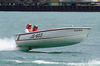 JS-603, Jersey Speed Skiff..10-12 July, 2009, 100th Gold Cup, Detroit River, Detroit, MI USA..©2009 F.Peirce Williams, USA.
