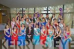 KERRY ROSES: The contestant who were going for the title the Kerry Rose 2013 at the Kerry Rose Selection on Friday night in Ballyroe Heights Hotel, Tralee wit GM Mark Sullivan, Nicola McEvor (2012 Rose of Tralee) and Ann Marie Hayes (2012/13 Kerry Rose).