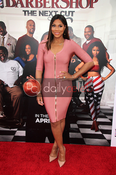 Tamar Braxton<br /> at the &quot;Barbershop The Next Cut&quot; Premiere, TCL Chinese Theater, Hollywood, CA 04-06-16<br /> David Edwards/Dailyceleb.com 818-249-4998