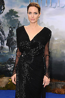 "Angelina Jolie arrives for the ""Maleficent"" costume display opening at Kensington Palace, London. 08/05/2014 Picture by: Steve Vas / Featureflash"