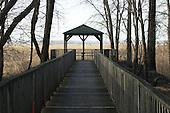 Lac Saint-Pierre was designated a biosphere reserve by UNESCO in 2000...Le parc de l'Anse du Port est un site privilégié pour l'observation de phénomènes naturels; ses paysages se modifient au fil des saisons, des ans et des caprices des glaces; on y jouit des plus beaux couchers de soleil sur le lac Saint-Pierre... et ce ne sont que quelques-uns de ses attraits. ..Pour mieux en profiter, nous vous offrons des passerelles traversant l'érablière argentée et le marais, une tour d'observation donnant sur le lac Saint-Pierre, des sentiers pédestres, un programme d'interprétation avec guides (en saison estivale) et panneaux descriptifs..