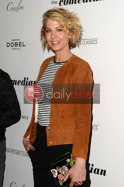 """Jenna Elfman<br /> at """"The Comedian"""" Los Angeles Premiere, Pacific Design Center, West Hollywood, CA 01-27-17<br /> David Edwards/DailyCeleb.com 818-249-4998"""
