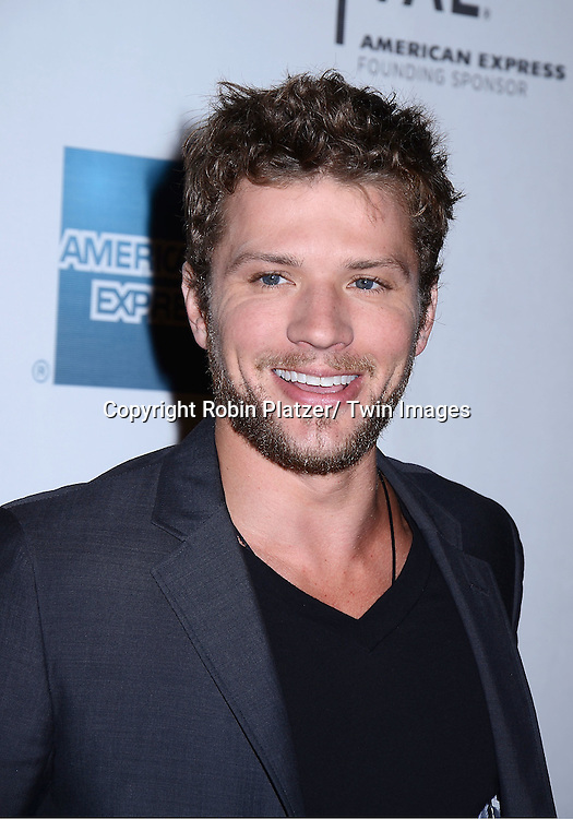 """actor Ryan Phillippe attending The Tribeca Film Festival 2011 screening of .""""The Bang Bang Club"""" on April 21, 2011 at BMCC/TPAC in New York City. The movie stars Ryan Phillippe and Malin Akerman."""