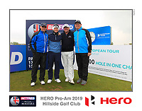 Brandon Stone (RSA) on the 10th tee during the Pro-Am of the Betfred British Masters 2019 at Hillside Golf Club, Southport, Lancashire, England. 08/05/19<br /> <br /> Picture: Thos Caffrey / Golffile<br /> <br /> All photos usage must carry mandatory copyright credit (© Golffile | Thos Caffrey)
