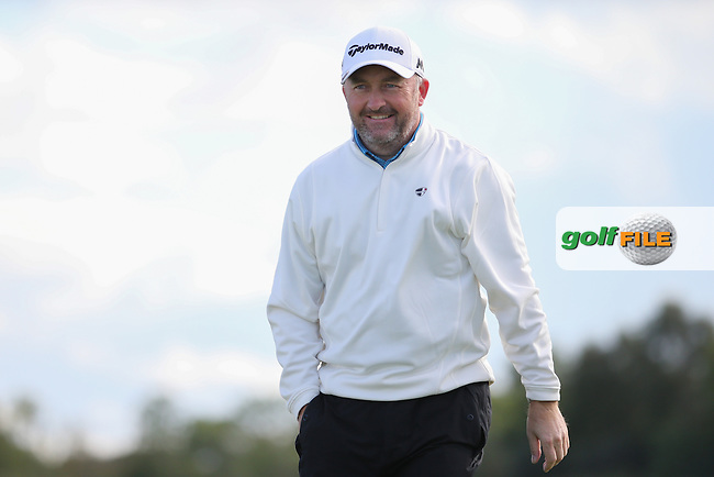 Damien McGrane (IRL) wins the final round of  The 106th Irish PGA Championship, at the Moy Valley Hotel & Golf Resort, Kildare, Ireland.  25/09/2016. Picture: David Lloyd | Golffile.
