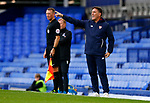 Sevilla's Manager Eduardo Berizzo gestures during the pre season friendly match at Goodison Park Stadium, Liverpool. Picture date 6th August 2017. Picture credit should read: Paul Thomas/Sportimage