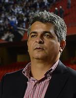 SAO PAULO SP, 03 Julho 2013 - Sao Paulo  X Corinthians.   Ney Franco   durante primeira partida da final da recopa sulamericana  de 2013  no Estadio do Morumbi em  Sao Paulo, nesta quarta , 03. (FOTO: ALAN MORICI / BRAZIL PHOTO PRESS).