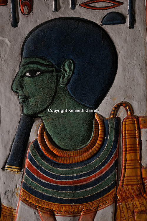 Zahi Hawass Secret Egypt Travel Guide; Egypt; archaeology; Luxor; West Bank; Valley of the Queens; Tomb of Nefertari,New Kingdom; wife of Ramses II; Ramesses the Great, god, Ptah