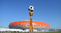 SARANSK - RUSIA, 19-06-2018: El estadio Mordovia Arena es visto previo al partido de la primera fase, Grupo H, entre Colombia y Japón por la Copa Mundial de la FIFA Rusia 2018 jugado en el estadio Mordovia Arena en Saransk, Rusia. / Mordovia Arena stadium is senn prior the match between Colombia and Japan of the first phase, Group H, for the FIFA World Cup Russia 2018 played at Mordovia Arena stadium in Saransk, Russia. Photo: VizzorImage / Julian Medina / Cont