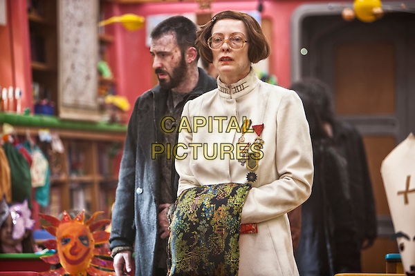 Chris Evans, Tilda Swinton<br /> in Snowpiercer (2013) <br /> *Filmstill - Editorial Use Only*<br /> CAP/NFS<br /> Image supplied by Capital Pictures