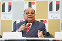 Narayana Ramachandran, <br /> AUGUST 7, 2015 : <br /> World Squash Federation (WSF) <br /> holds a media conference following its interview <br /> with the Tokyo 2020 Organising Committee in Tokyo Japan. <br /> (Photo by YUTAKA/AFLO SPORT)