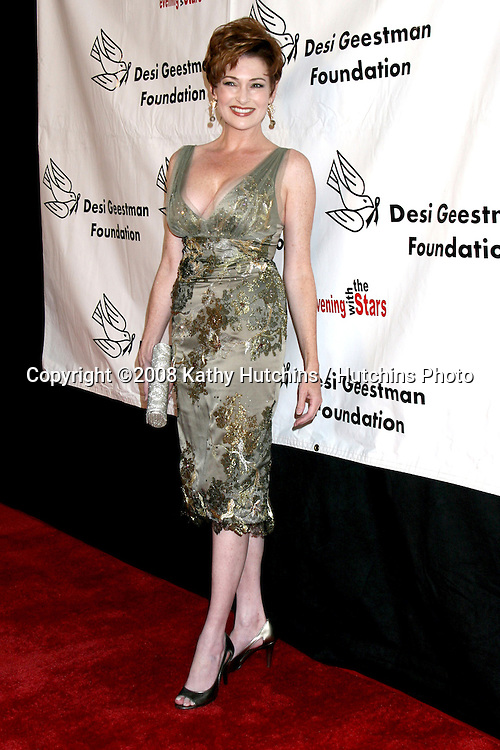 Carolyn Hennesy arriving at the Desi Geestman Foundataion Annual Evening with the Stars at the Universal Sheraton Hotel in Los Angeles, CA.October 11, 2008.©2008 Kathy Hutchins / Hutchins Photo...                .
