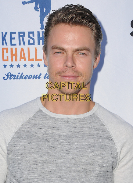 11 August 2016 - Los Angeles, California. Derek Hough. Clayton Kershaw's 4th Annual Ping Pong 4 Purpose Celebrity Tournament held at Dodger Stadium. <br /> CAP/ADM/BT<br /> &copy;BT/ADM/Capital Pictures