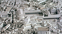 Imperial Forum of Rome, 4th Century AD