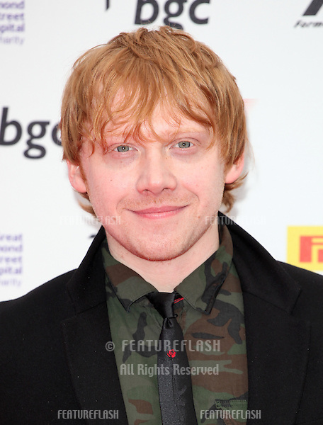 Rupert Grint arriving for The F1 Party in aid of GOSH at Battersea Evolution, London. 04/07/2012 Picture by: Alexandra Glen / Featureflash