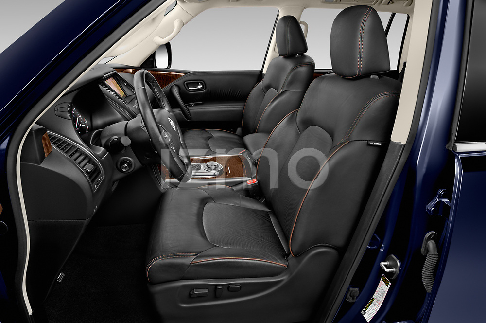 Front seat view of a 2019 Nissan Armada SL 5 Door SUV front seat car photos
