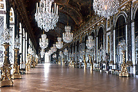 Versailles: Mirrors Gallery. Reference only.