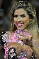 SÃO PAULO, SP, 05 DE FEVEREIRO DE 2012 - ENSAIO GAVIÕES DA FIEL - Ana Paula Minerato durante ensaio técnico da Escola de Samba Gaviões da Fiel na preparação para o Carnaval 2012. O ensaio foi realizado na noite deste domingo (05) no Sambódromo do Anhembi, zona norte da cidade. FOTO: LEVI BIANCO - NEWS FREE