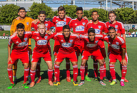 Carson, CA - July 16, 2016: In the 2016 U.S. Soccer Development Academy U-15/16 Championship Finals. FC Dallas defeated the LA Galaxy 2-0 at StubHub Center.