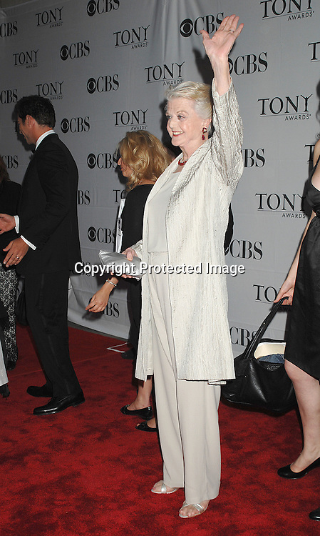 Angela Lansbury..arriving at The 2007 Tony Awards on June 10, 2007 at ..Radio City Music Hall. ..Robin Platzer, Twin Images......212-935-0770