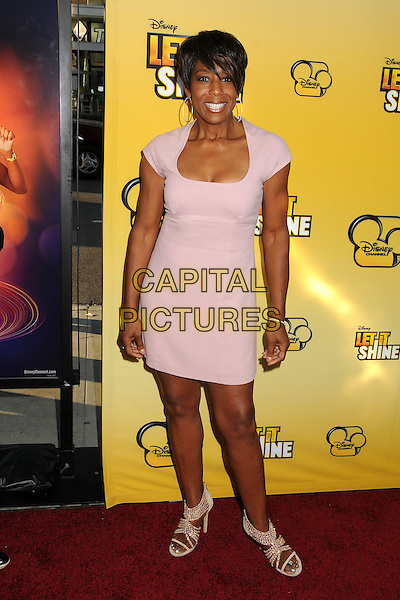 "Dawnn Lewis.""Let It Shine"" Los Angeles Premiere held at the Directors Guild of America, West Hollywood, California, USA..June 5th, 2012.full length pink dress.CAP/ADM/BP.©Byron Purvis/AdMedia/Capital Pictures."