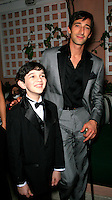 Beverly Hills, California - September 7, 2006.Zach Mills and Adrien Brody at the Afterparty for the Los Angeles Premiere of Hollywoodland at the Beverly Hills Hotel..Photo by Nina Prommer/Milestone Photo