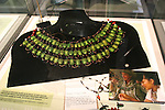 necklace of beetles, Insect Zoo, Montreal