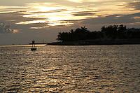Sunset off Mallory Square, Key West, Florida