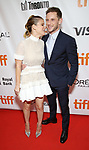 Kate Mara and Jamie Bell attend the 'Film Stars Don't Die in Liverpool' premiere during the 2017 Toronto International Film Festival at Roy Thomson Hall on September 12, 2017 in Toronto, Canada.