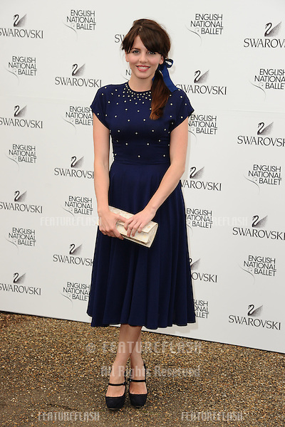Ophelia Lovibond arriving for the English National Ballet's summer party, Kensington Palace Orangery, London. 27/06/2012 Picture by: Steve Vas / Featureflash