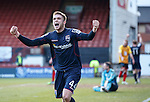 Marcus Fraser celebrates his goal for Ross County