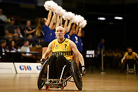 Opening Ceremony - Jason Lees (Aus)<br /> Australian Wheelchair Rugby Team<br /> 2018 IWRF WheelChair Rugby <br /> World Championship / Day 1<br /> Sydney  NSW Australia<br /> Sunday 5th August 2018<br /> &copy; Sport the library / Jeff Crow / APC