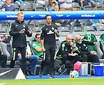 10.09.2017, OLympiastadion, Berlin, GER, 1.FBL, Hertha BSC VS. SV Werder Bremen, im Bild <br /> Cheftrainer Alexander Nouri (Werder Bremen)<br /> <br /> <br />       <br /> Foto &copy; nordphoto / Engler