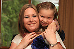 "Hope O""Reilly and her Mother Sharon.Picture Fran Caffrey/Newsfile.ie"