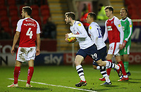 Preston North End's Tom Barkhuizen looks to get his side moving again after an own goal gets them back into the game (2-1)<br /> <br /> Photographer David Shipman/CameraSport<br /> <br /> The EFL Sky Bet Championship - Rotherham United v Preston North End - Tuesday 1st January 2019 - New York Stadium - Rotherham<br /> <br /> World Copyright © 2019 CameraSport. All rights reserved. 43 Linden Ave. Countesthorpe. Leicester. England. LE8 5PG - Tel: +44 (0) 116 277 4147 - admin@camerasport.com - www.camerasport.com