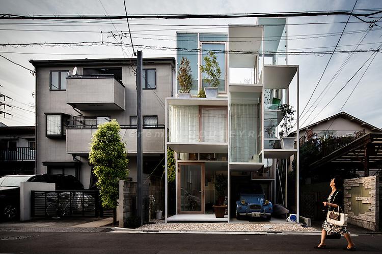 Tokyo, July 23 2012 - House NA by Sou Fujimoto.